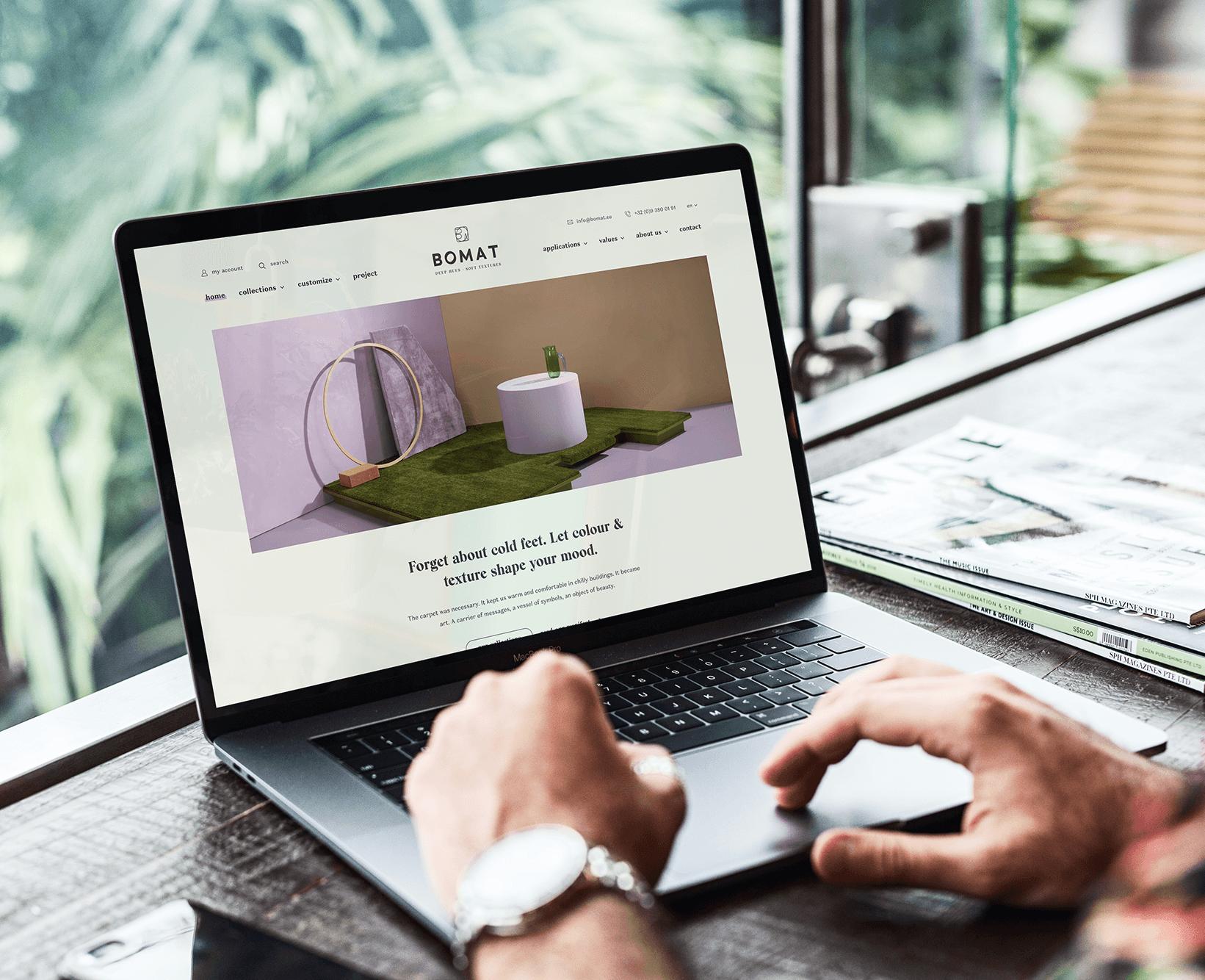 Project BOMAT | lsDevign - Web Development en Webdesign op maat regio Lichtervelde