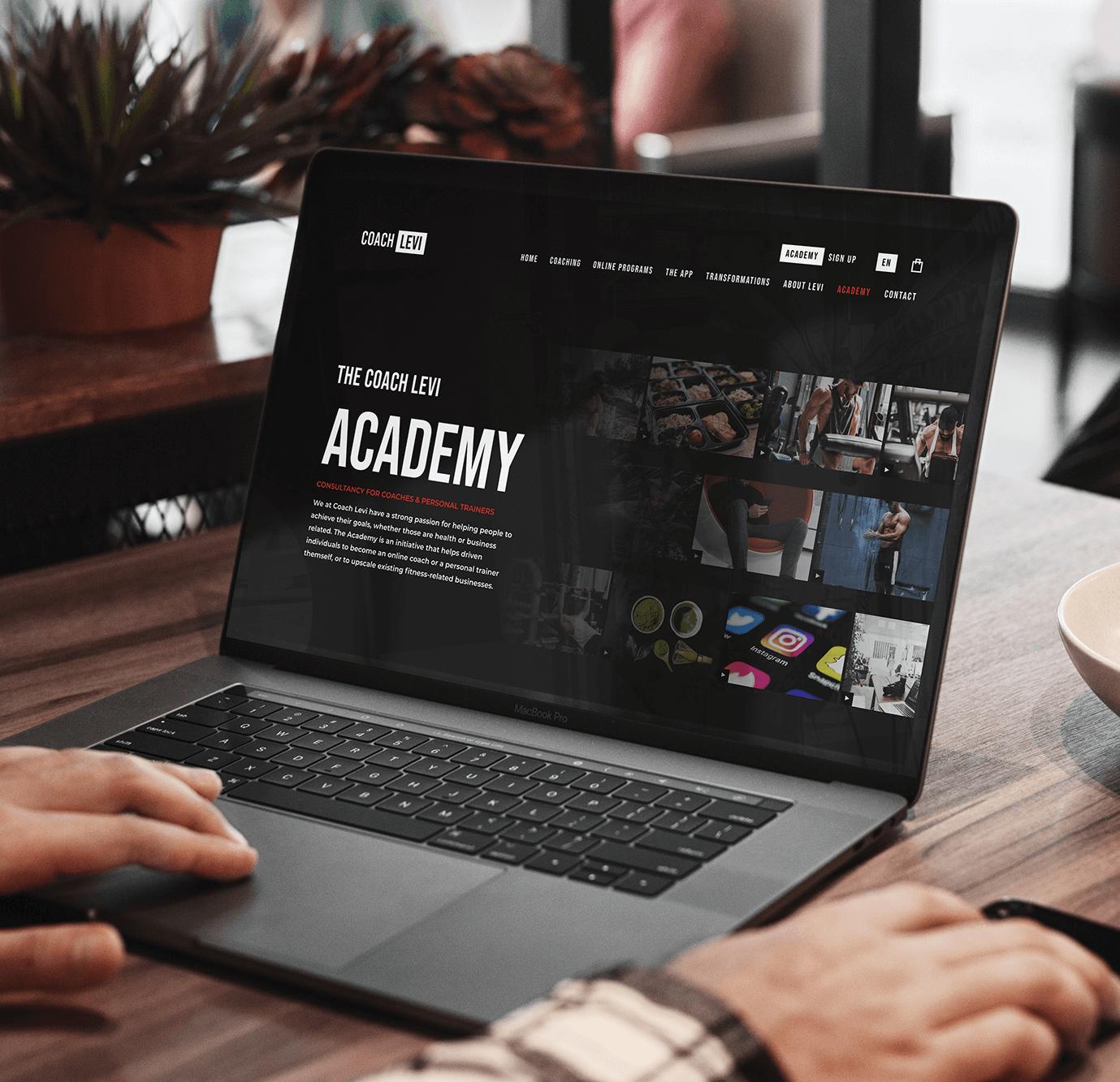 Project Coach Levi | lsDevign - Web Development en Webdesign op maat regio Lichtervelde