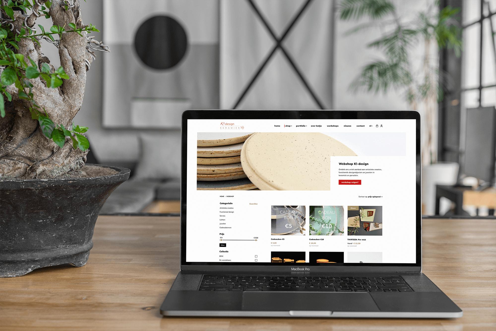 Project K!-design | lsDevign - Custom Web Development and Webdesign in Lichtervelde